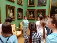 5 и 6 классы в Третьяковской галерее