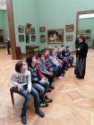 Четвертый класс в Третьяковской галерее